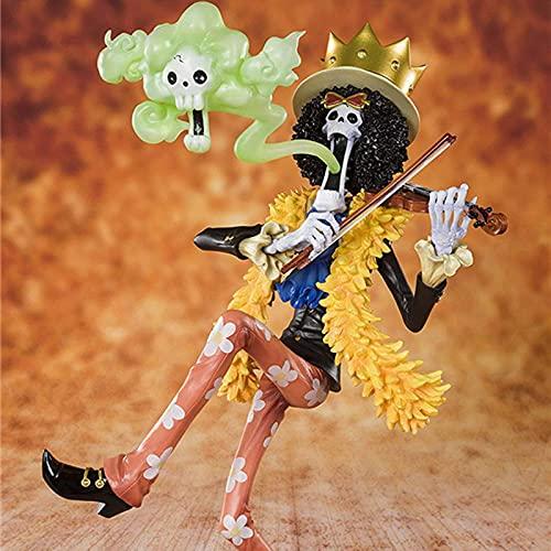 anzhcz Una Pieza Brooks 15 Aniversario Ver PVC Figura De Acción Modelo Zero Brook Violín Juguetes De Modelos Coleccionables 23 Cm