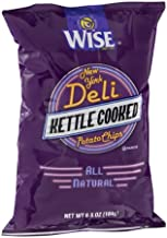 Wise New York Deli Potato Chips Kettle Cooked