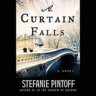 A Curtain Falls audiobook cover art