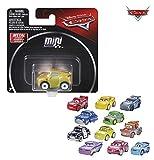 Mattel-GKF65 Cars coches micro blister, modelos surtidos, Color aleatorios (GKF65)