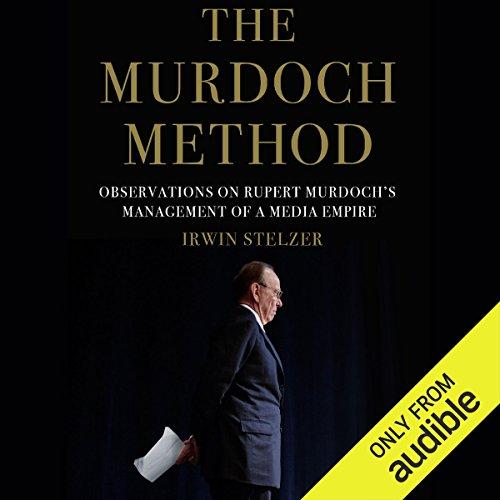 The Murdoch Method audiobook cover art