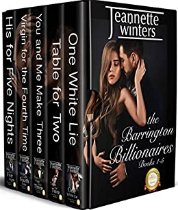 The Barrington Billionaires Collection: Books 1-5 by [Jeannette Winters]