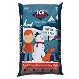 Redmond Ice Slicer - Ice Melt Salt, Kid & Pet Safe Deicer, All-Natural Granular Ice Melt (25 LB)