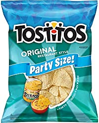 Tostitos Tortilla Chips, Restaurant Style, 17 oz Party Size Bag