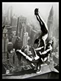 Germanposters Acrobats on The Empire State Building Poster