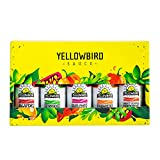 Hot Sauce Variety Pack by Yellowbird   Plant-Based, Gluten Free, Non-GMO   Homegrown in Austin   2.2 oz (5-Pack)