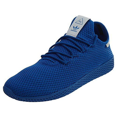 adidas Mens Pharrell Williams Tennis hu Athletic Shoe (Mens 13, Blue Monochrome 6432)