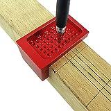 WE-WIN T-Regell-Shibe, beherrschter Lineal Messung der Ruler Präzisions-Markierung Aluminium Alloy Metric Woodworking Tool T50 Mini Scribe