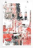 Berlin - modernes abstraktes Bild Sinus Art - Bilder, Poster und Kunstdrucke