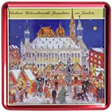 Lambertz Lebkuchenmischung Dose 'Weihnachtsmarkt', 1er Pack (1 x 1 kg)