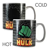 tazza termosensibile Marvel Comics Hulk pugno