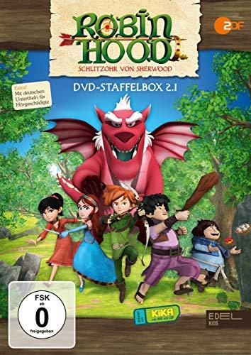 Robin Hood - Schlitzohr von Sherwood - Staffelbox 2.1 (Folgen 1 - 26) - Die DVD zur TV-Serie