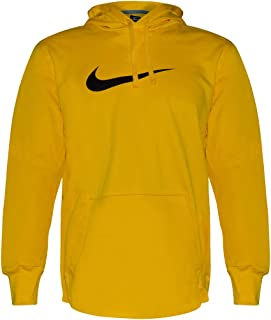 Men's Therma-Fit Athletic Hoodie (Bright Yellow, XXL)