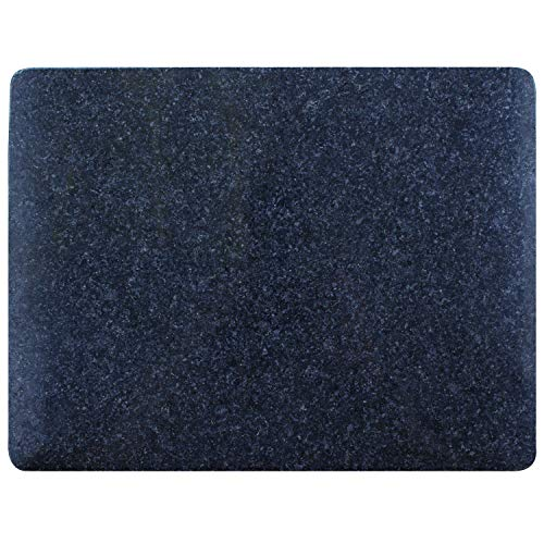 HealthSmart Granite Cutting Board with Rounded Corners, Durable Professional-Grade Kitchen Accessory, 11 X 8.5 Inches
