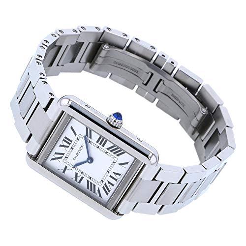 カルティエ Cartier タンク ソロ SM W5200013 シルバー文字盤 新品 腕時計 レディース (W198657) [並行輸入品]
