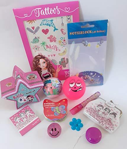 101307 Spielsachen Set 12tlg. für Mädchen Füllung Schultüte Adventskalender Mitgebsel