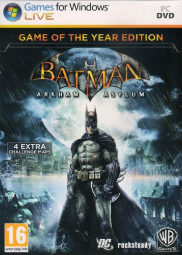 Batman: Arkham Asylum - Game of the Year Edition (PC DVD)