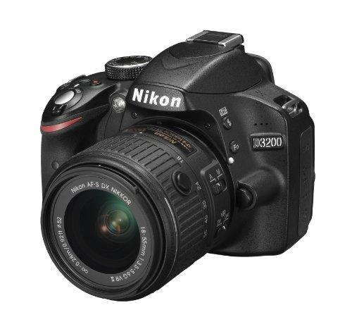 Nikon Kit D3200 Fotocamera + Obiettivo AF-S DX