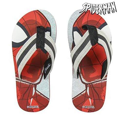 Spiderman S0711754, Flip Flop Mixte Enfant, Rouge, 27 EU