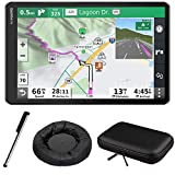 Garmin RV 1090 10' RV GPS Navigator (010-02425-05) with 10' Hard Shell Carrying Case & Deco Gear Universal Weighted GPS Navigation Dash-Mount + Touch Screen Stylus Pen with Pocket Clip Bundle
