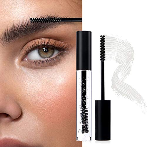 2 PCS Clear Eyebrow Gel, Waterproof Transparent Eyebrow Fixed Gel, Long Lasting Eyelash Fix Gel Eyebrow Styling Repair Liquid