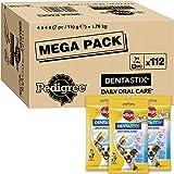 Pedigree Dentastix - Friandises pour petit chien, 112 bâtonnets à mâcher pour l'hygiène bucco-dentaire (16 sachets de 7 Sticks) - Amazon Pack