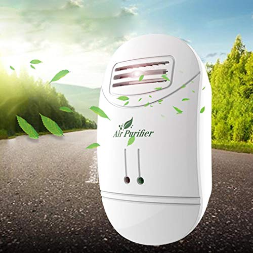Purchase Erholi US Plug Mini Air Purifier Freshener Reduces Odors Dust Home Electrostatic Air Purifi...