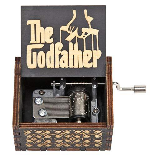 FGHFG Spieluhr Babybett Nostalgie Holzhandwerk Kreatives Holzhandwerk