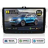 NEOTONE WRX-990A Android 9 Autoradio für VW | Skoda | Seat | 4GB Ram | 32GB Rom | Navi mit Europakarten | 9 Zoll | DAB+ Unterstützung | USB | WLAN | Bluetooth | MirrorLink | RDS | OBDII...