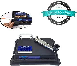 Yoico Manual Cigarette Rolling Machine with Smoke Holder, Cigarette Injector Machine, Hand Operation Tobacco Maker Roller Machine Storage Case