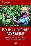 Pour la dignité paysanne - Expériences et témoignages d'Afrique janvier 2018