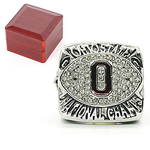 El Anillo de Campeonato de la NCAA 2002 Buckeyes de Ohio State, para los Aficionados de la reproducción colección del Regalo del tamaño 10 con Vitrina