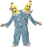 Gemz Fancy Dress Bananas In Pyjamas Costume-Medium