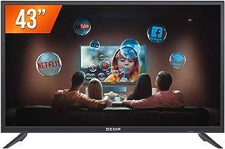 "Smart TV Led 43"" SEMP L43S3900FS - Full HD, Wi-Fi, Receptor DTV e Tecnologia Ginga UNICA"