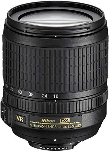 Nikon AF-S DX NIKKOR 18-105 mm 1:3.5-5.6G ED VR SLR Standard zoom lens Zwart
