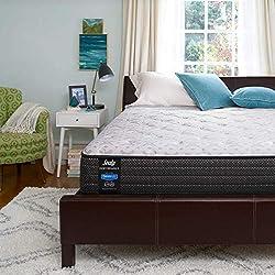 top 10 beautyrest mattress Sealy Response Performance 13inch Plush Pillow Mattress, Queen, White