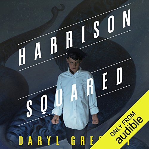 Harrison Squared audiobook cover art