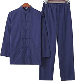 ZooBoo Martial Arts Suit - Chinese Traditional Tang Suit Kung Fu Uniforms