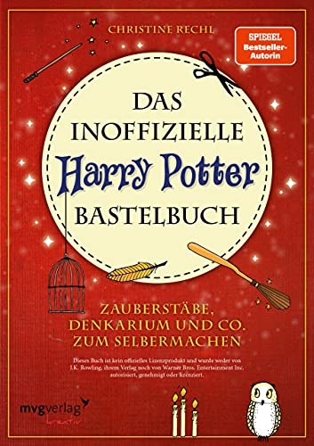 Mvg Verlag Das inoffizielle Harry-Potter-Bastelbuch: Zauberstäbe, Denkarium Bild