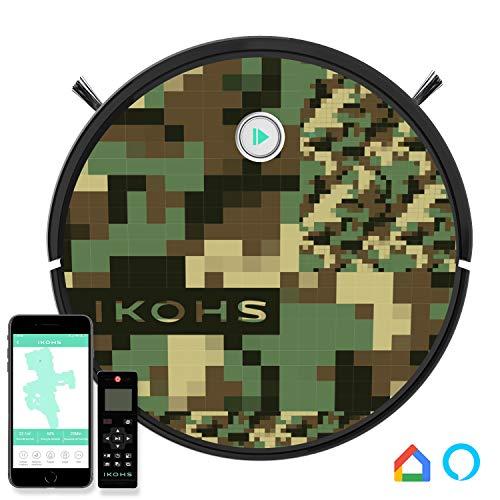 IKOHS netbot S15 - Robot aspirapolvere Professionale 4 in 1, Scopa,...
