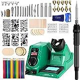 Best Wood Burning Tools - Wood Burning Kit, 82PC Upgraded 60W Digital Wood Review