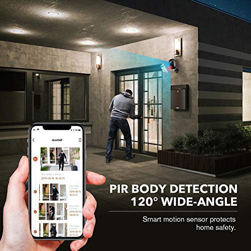 Security Camera Outdoor Wireless, Surveillance Rechargeable Battery-Powered WiFi 1080P Camera, PIR Motion Detection, 2Way Audio, Night Vision (Camera)