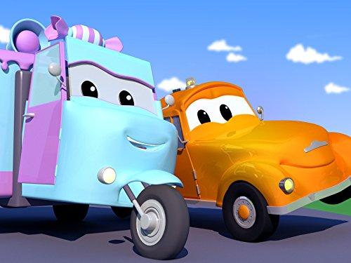 Steckt Unter Trümmern Fest! / Der Motor Von Tao Dem Tuktuk Ist überhitzt! / Carrie Das Süßigkeitenauto Wird Von Einem Baseball Getroffen! / Klein Jerry Das Rennauto Ist zu Schnell Gefahren!
