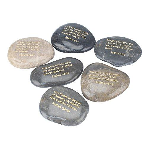 Stonebriar Inspirational Psalm Stones