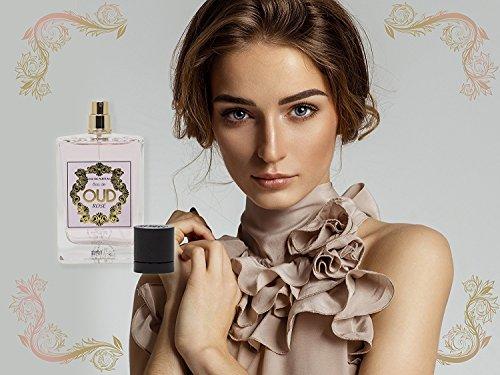 Eau de Parfum OUD Rose für Damen, 100 ml - Neues HOLZIGES Aroma für Sie