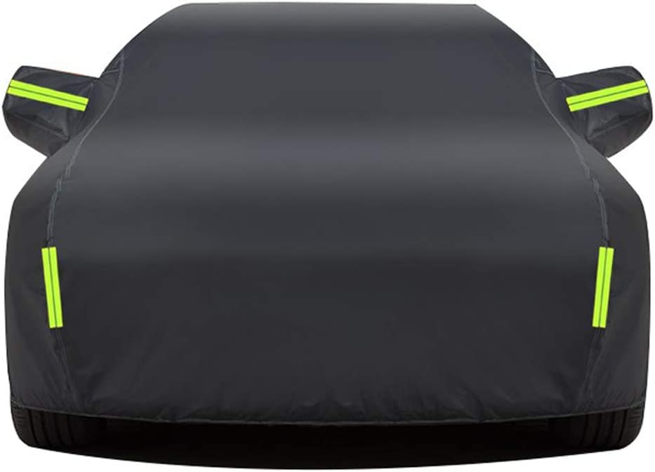 DUWEN 5 ☆ popular Car Cover Washington Mall Waterproof All Weather Automobiles Compatibl for