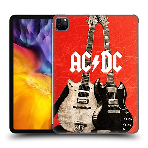 Official AC/DC ACDC Rock Guitars Iconic Hard Back Case Compatible for Apple iPad Pro 11 (2020)