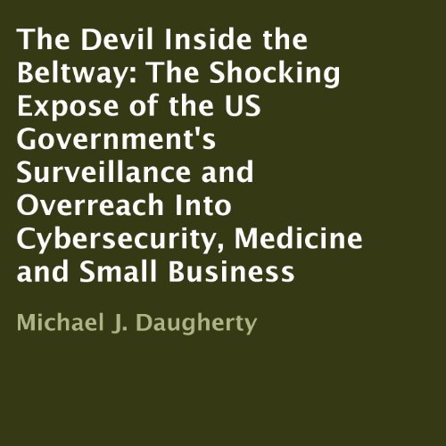 The Devil Inside the Beltway audiobook cover art