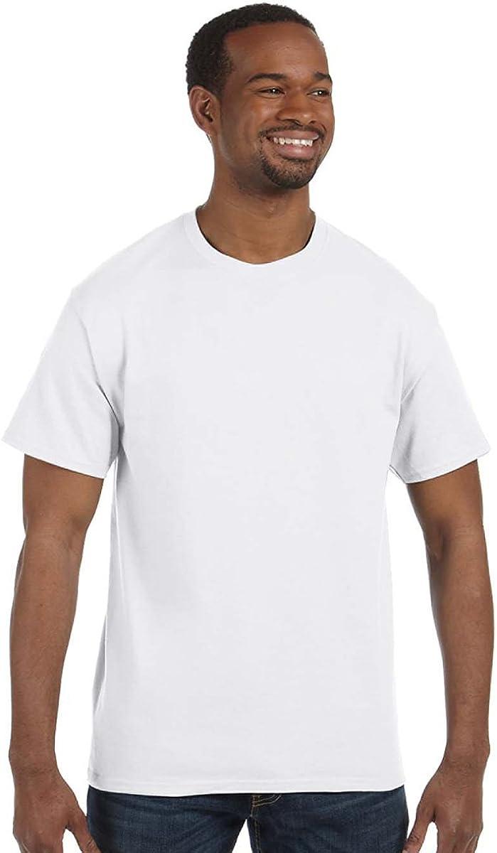 Jerzees Tall 5.6 oz. 50/50 Heavyweight Blend T-Shirt (29MT) White, 3XLT
