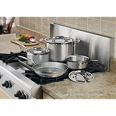 Cuisinart Multiclad Pro Triple Ply Stainless 7-Pc. Set